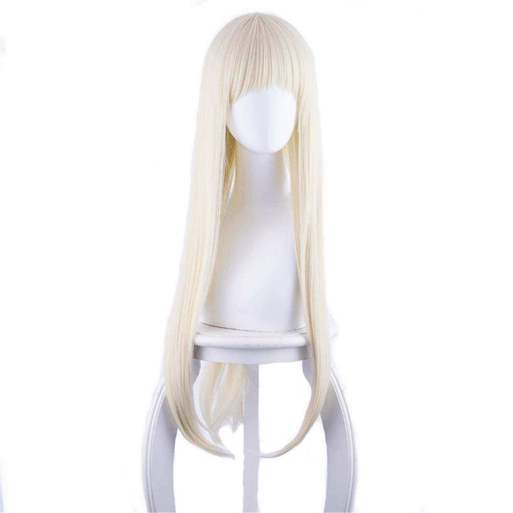 Anime 100cm Long Straight Blonde Cosplay Wig Women Girls' Party Wigs