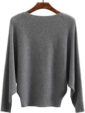 Load image into Gallery viewer, Women Sweaters Batwing Sleeve Casual Cashmere Jumpers Winter Pullovers