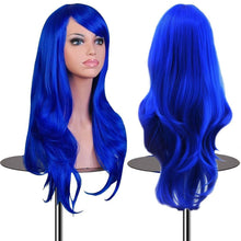 "Load image into Gallery viewer, 28"" Long Wavy Hair Heat Resistant Cosplay Wig for Women"