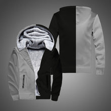 Load image into Gallery viewer, New Autumn and Winter Zipper Polar Fleece Cotton Long-Sleeved Cotton Jacket