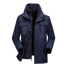 Load image into Gallery viewer, Detachable Thicken Keep Warm and Cold-proof Mountaineering Men's Jacket