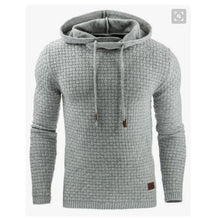 Load image into Gallery viewer, Men's Jacquard Sweater Long Sleeve Hoodie Sweatshirt jacket