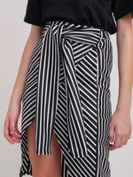 Sadie Striped Pencil Skirt and Tee Set
