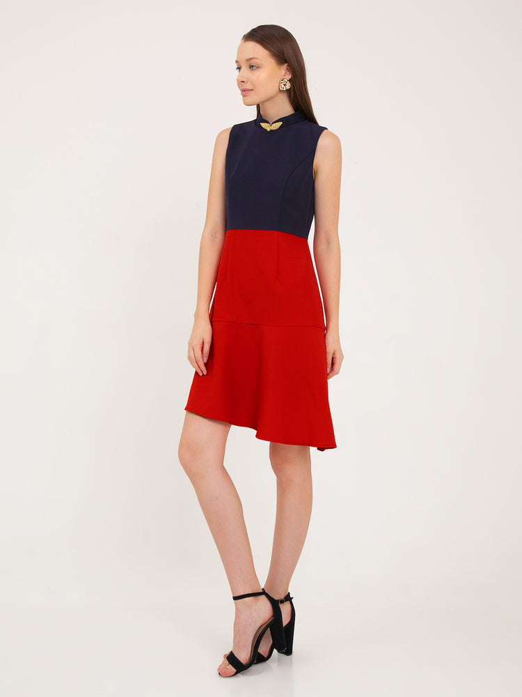 Felicya Colourblock Dress