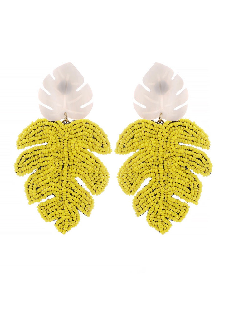 Cancun Earrings - Lemon
