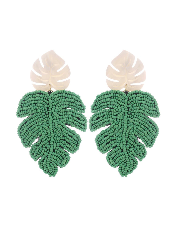 Cancun Earrings - Mint
