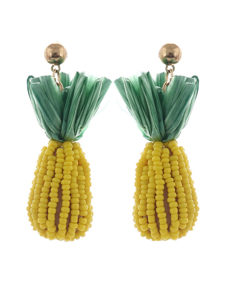 Bahamas Earrings - Classic Yellow
