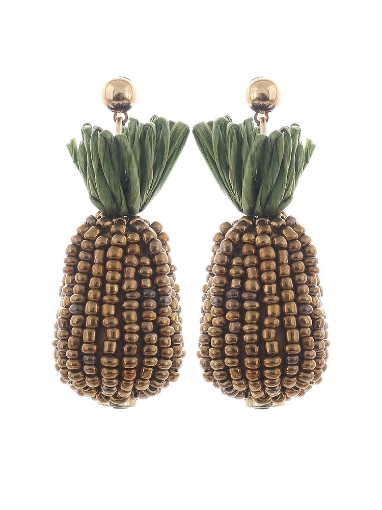 Bahamas Earrings - Gold