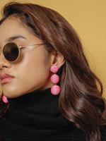 Havana Earrings - Bubblegum