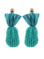 Bahamas Earrings - Teal