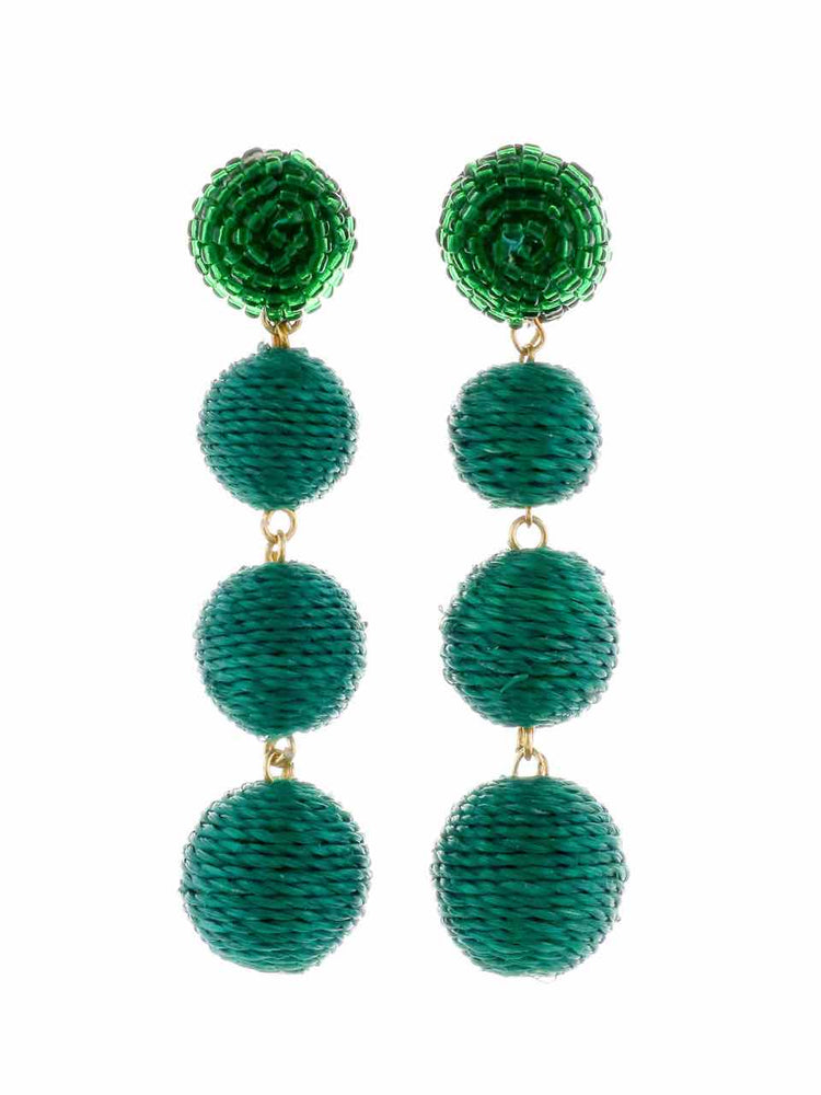 Palm Springs Earrings - Green