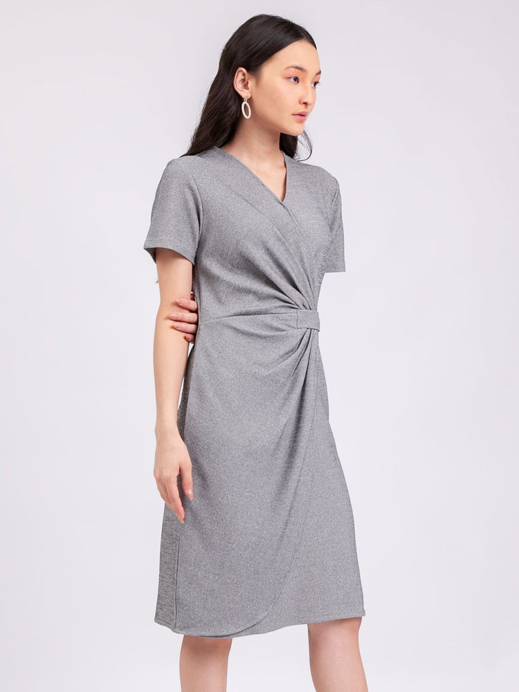 18b2abea441 Anastasia Dress in Light Grey