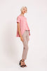 Belle Asymmetrical Top in Pink