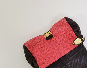 Pochette En Satin Louis Vuitton