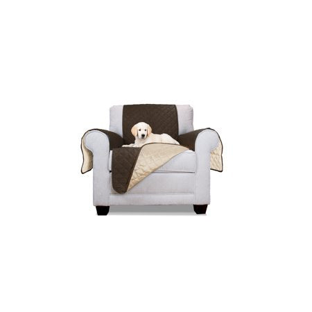 Miraculous Wealth In Furhaven Pet Furniture Cover Reversible Furniture Cover Protector For Dogs Cats Espresso Clay Sofa Machost Co Dining Chair Design Ideas Machostcouk
