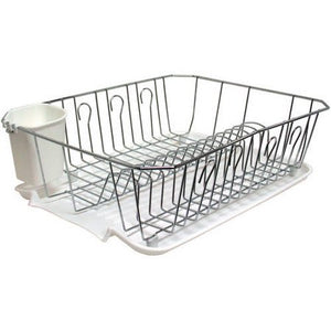 Wealth Details Dish Rack, Chrome - Entertainment Vlog