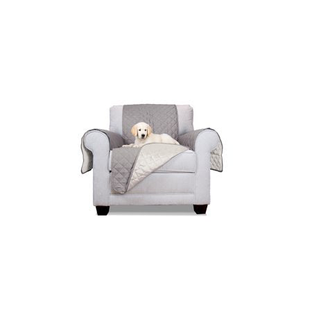 Strange Wealth In Furhaven Pet Furniture Cover Reversible Furniture Cover Protector For Dogs Cats Espresso Clay Sofa Machost Co Dining Chair Design Ideas Machostcouk