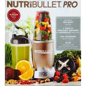 Magic Bullet NutriBullet Pro 900 Series Blender, 9 Piece - Entertainment Vlog