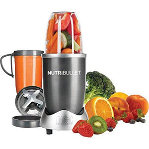 NutriBullet 8-Piece Magic Bullet Superfood Nutrition Extractor, Silver - Entertainment Vlog