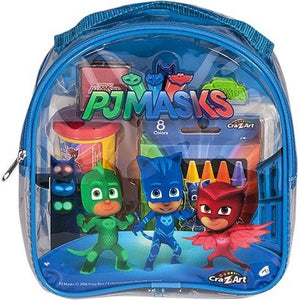 Wealth BAG PJ Masks Coloring and Activity Backpack (Blue or red, color may vary) - Entertainment Vlog