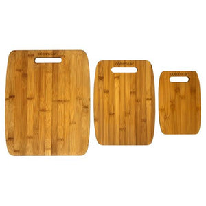 Wealth Oceanstar 3-Piece Bamboo Cutting Board Set CB1156 - Entertainment Vlog