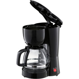 Wealth Mainstays Black 5-Cup Coffee Maker with Removable Filter Basket - Entertainment Vlog