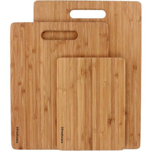 💫Wealth Freshware Bamboo Cutting Boards, 3-Piece, BC-200PK - Entertainment Vlog
