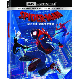 Wealth in Spider-Man: Into the Spider-Verse (4K Ultra HD + Blu-ray + Digital Copy) - Entertainment Vlog