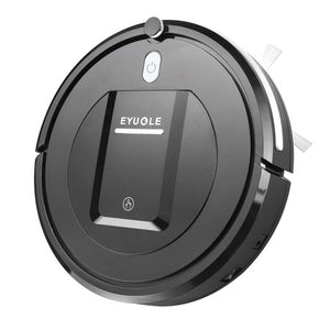 Wealth in Eyugle Robot Vacuum Cleaner Sweeping Machine 500Pa Suction 3 Cleaning Mode 5Cm A Black Pink - Entertainment Vlog