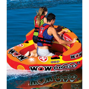 Wealth WOW World of Watersports 14-1060 Bingo Towable, 2 Rider - Entertainment Vlog