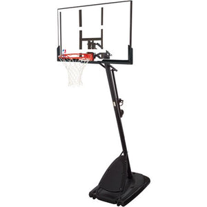 "Spalding NBA 54"" Portable Angled Basketball Hoop with Polycarbonate Backboard - Entertainment Vlog"