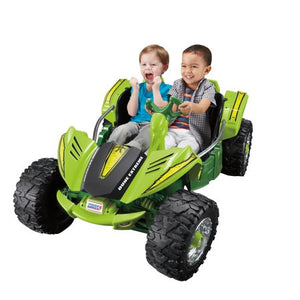 Power Wheels Dune Racer Extreme, Green Ride-On Vehicle - Entertainment Vlog