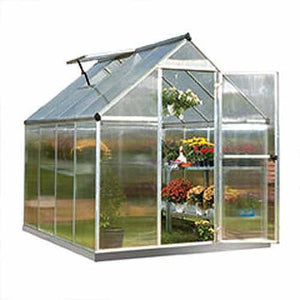 🤝🌳Wealthy Palram Mythos Greenhouse - 6' x 8' - Silver - Entertainment Vlog
