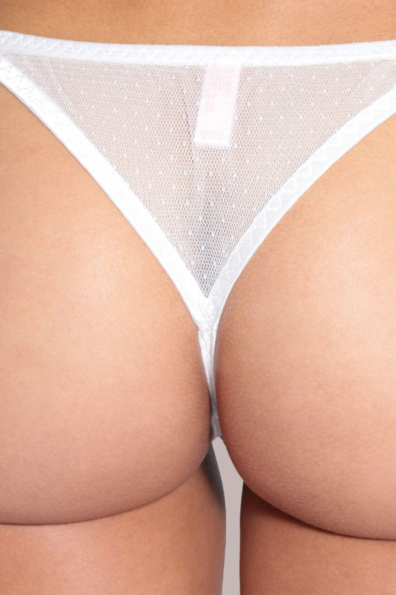 Daybreak Lace Adjustable Tanga Panty