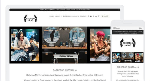 Barberoo - Service Website