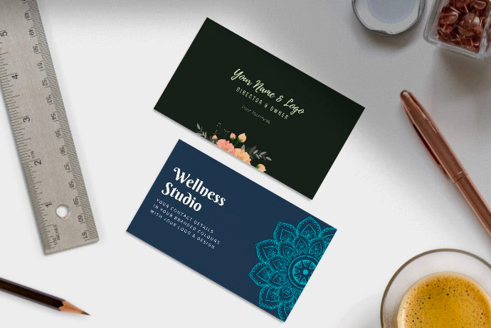 Business Cards Design & Print with your existing logo