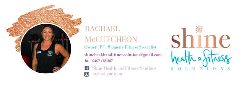 Shine Health & Fitness Solutions Email Signature