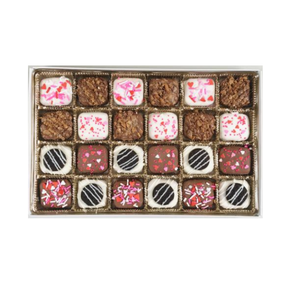 Hugs and Kisses Prexel Gift Box (24-Piece)