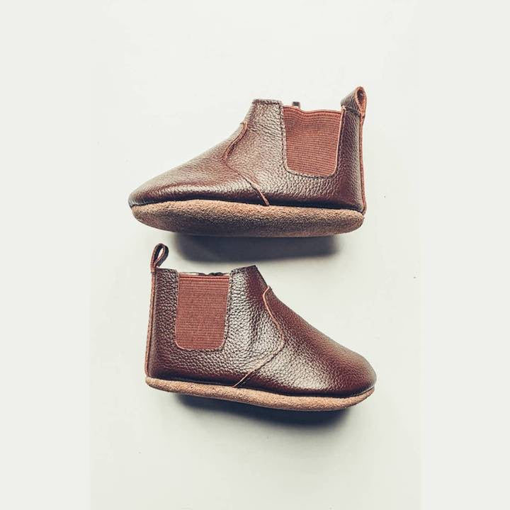 Chocolate Chelsea Boot - Soft Sole