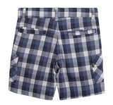 Boys Check Shorts