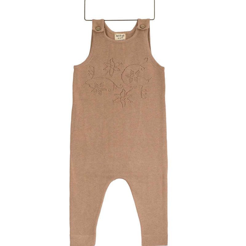 Baby Dungaree Romper - Sunset