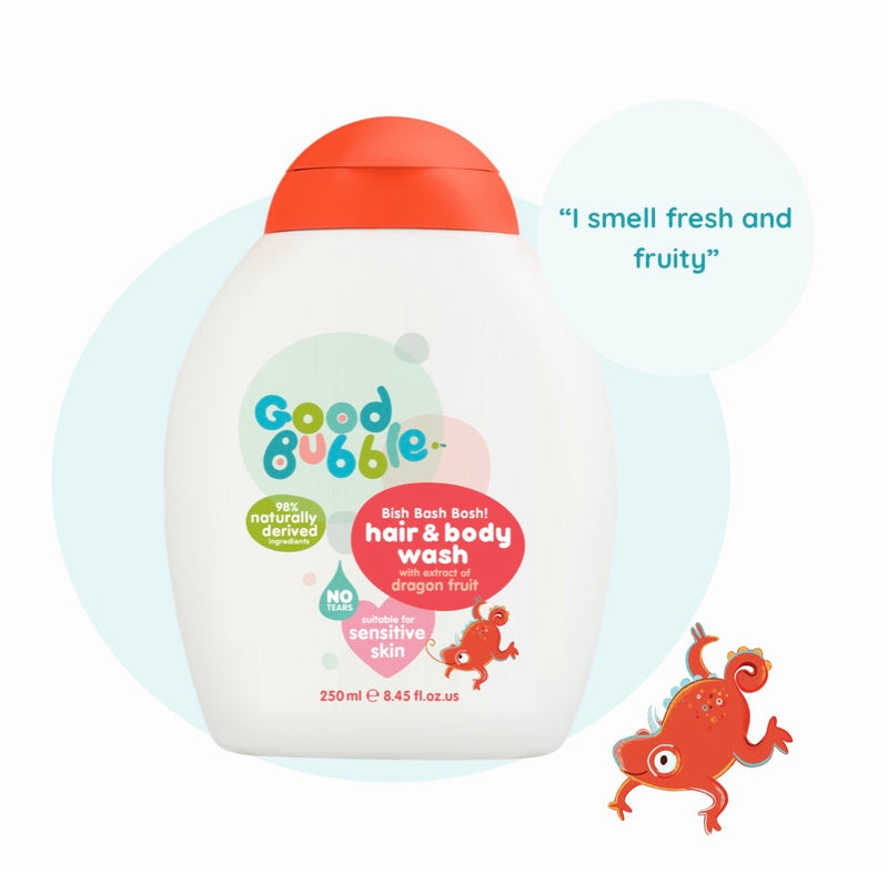 Hair & Body Wash with Dragon Fruit Extract 250ml