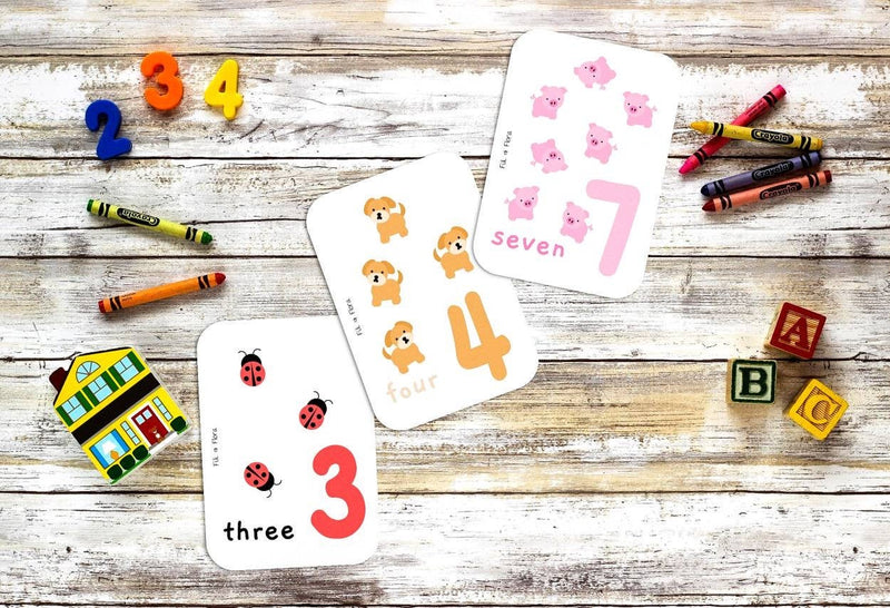 Numeracy Flashcards 1-10