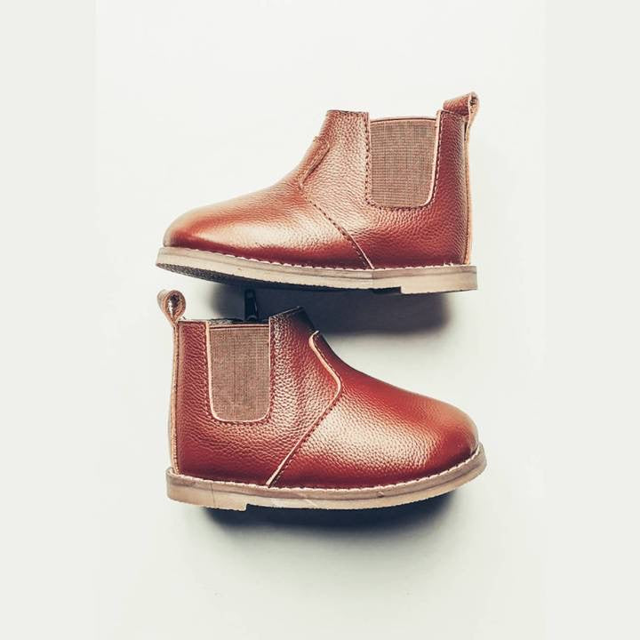 Chestnut Chelsea Boot - Hard Sole