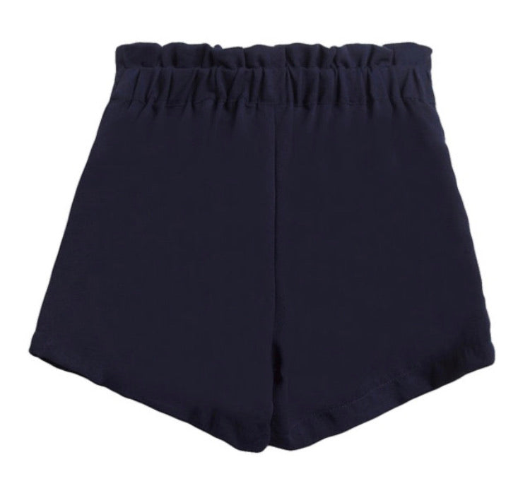 PRE ORDER - Navy Girls Bow Shorts