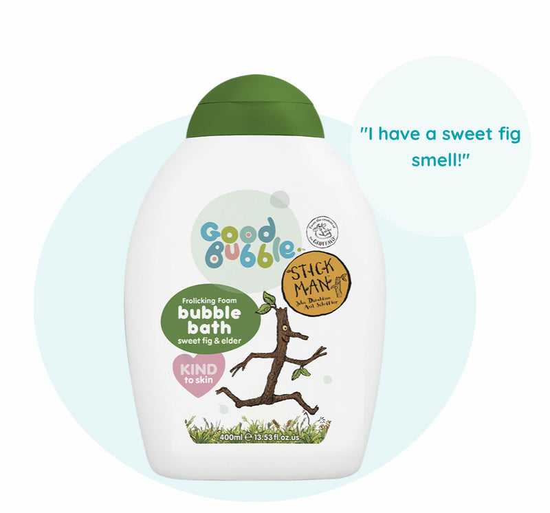 Stick Man Sweet Fig and Elder Bubble Bath 400ml