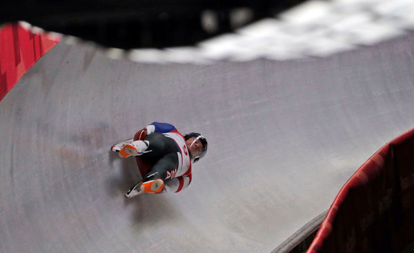 Tucker West - Olympic Luge