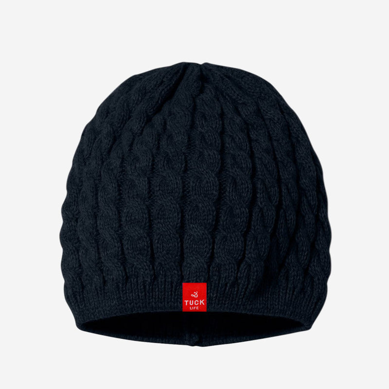 Twist Cable Knit Beanie