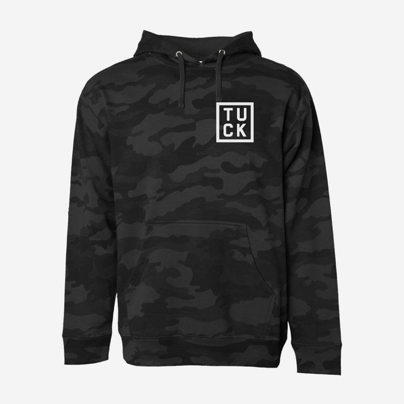 Tuck Sq Rectangle Pullover Hoodie