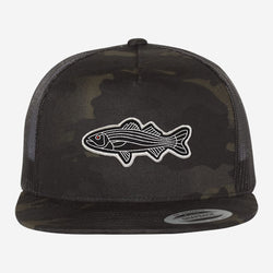 Bass Trucker Flat Brim